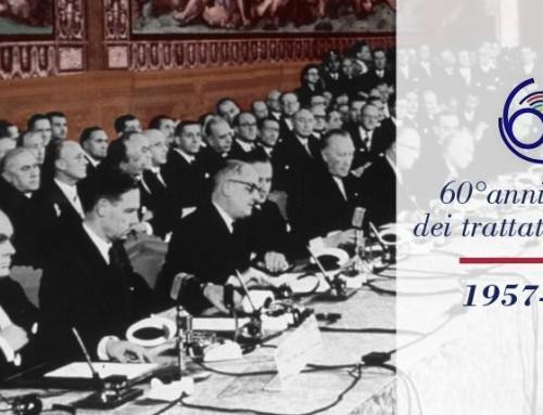 60° anniversario dei Trattati di Roma. Easy Diplomacy accanto al Mondo Diplomatico