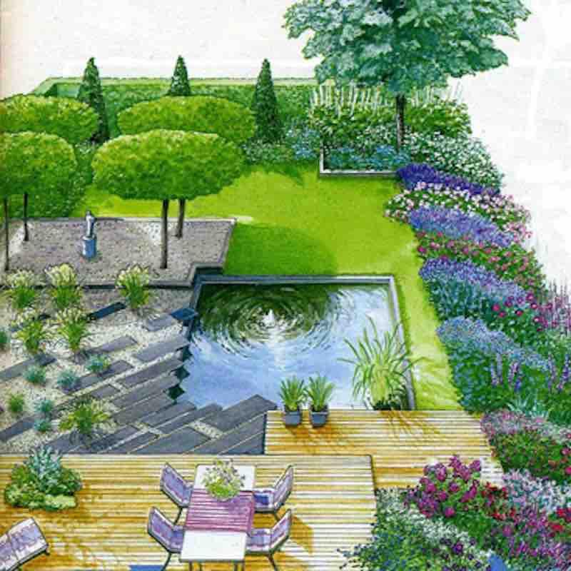 Architettura e progettazione giardini e terrazzi a roma for Progettazione giardini roma