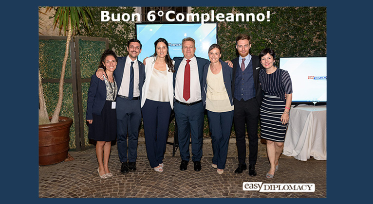 6° Compleanno Easy Diplomacy