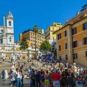 Roma Piazza di Spagna, appartamento in affitto con affaccio su Trinità dei Monti