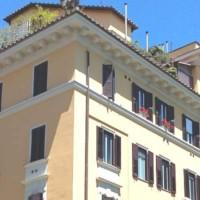 Roma San Saba attico con terrazzo in affitto
