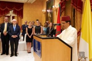 Speech dell'Ambasciatore del Marocco presso la Santa Sede