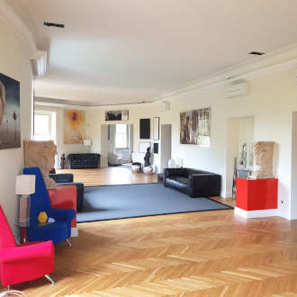 Large and luxurious apartment for sale in Via Panama in Rome