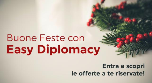 Buone Feste con Easy Diplomacy