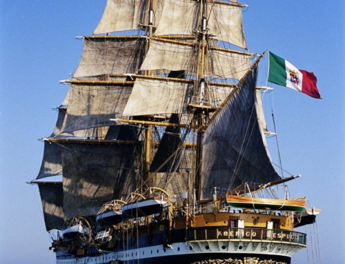 Happy Birthday Amerigo Vespucci, the most beautiful Ship in the World!