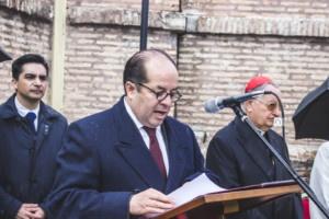H. E. Mr. José Álvarez Palacio, Ambassador of Ecuador to the Holy See