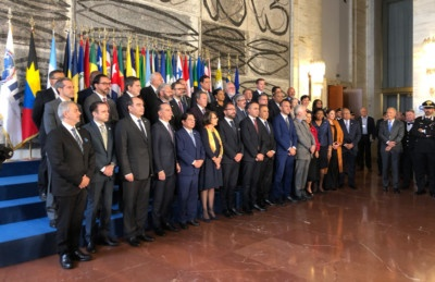 Foreign Ministers of Italy, Latin America and the Caribbean